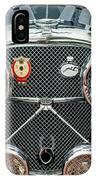 1950 Jaguar Xk120 Roadster Grille IPhone Case