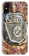 1950's Ford Truck Emblem IPhone Case
