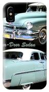1951 Mercury Come And Going IPhone Case