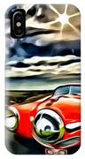1951 Red Studebaker IPhone Case