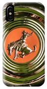 1952 Sterling Gladwin Maverick Sportster Wheel Emblem - 1720c IPhone Case