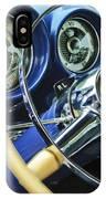 1953 Desoto Firedome Convertible Steering Wheel Emblem IPhone Case