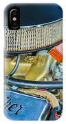 1953 Studebaker Champion Starliner Engine IPhone Case