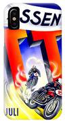 1954 - Assen Tt Motorcycle Poster - Color IPhone Case