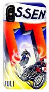 1954 - Assen Tt Motorcycle Poster - Color IPhone Case