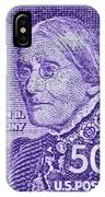 1954-1961 Susan B. Anthony Stamp IPhone Case