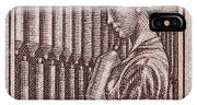 1954 Czechoslovakian Textile Worker Stamp IPhone Case