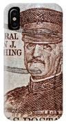 1954 General John J. Pershing Stamp IPhone Case