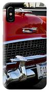 1955 Chevy Bel Air Front End IPhone Case