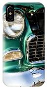 1955 Chevy Bel Air Grill IPhone Case