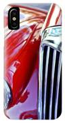 1955 Mg Tf 1500 Grille IPhone Case