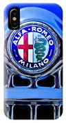 1956 Alfa Romeo Sprint Veloce Coupe Ultra Light Grille Emblem IPhone Case