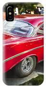 1956 Chevrolet Bel Air 210 IPhone Case