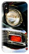 1956 Chevy Bel Air Head Light IPhone Case