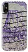1956 Devils Tower National Monument Stamp IPhone Case