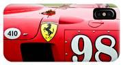 1956 Ferrari 410 Sport Scaglietti Spyder IPhone Case