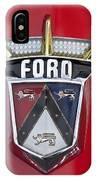 1956 Ford Fairlane Emblem IPhone Case