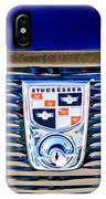 1956 Studebaker Golden Hawk Emblem IPhone Case
