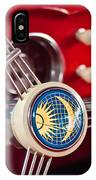 1956 Volkswagen Vw Karmann Ghia Coupe Steering Wheel 2 IPhone Case
