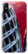 1957 Alfa-romeo 1900c Super Sprint Grille Emblem IPhone Case