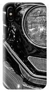 1957 Cadillac Coupe De Ville Headlight IPhone Case