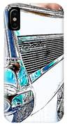 1957 Chevrolet Bel Air Art White IPhone Case