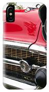 1957 Chevy Bel Air Front End IPhone Case