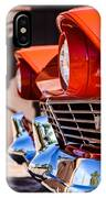 1957 Ford Fairlane Grille -205c IPhone Case