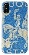 1958 Battle Of Fort Duquesne Stamp IPhone Case