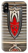1958 Oldsmobile Super 88 4 Door Sedan -1654c IPhone X Case