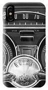 1959 Buick Lasabre Steering Wheel IPhone Case