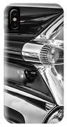 1959 Cadillac Eldorado Taillight -097bw IPhone Case