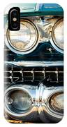 1959 Cadillac Sedan Deville Series 62 Grill IPhone Case