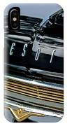 1959 Desoto Adventurer Hood Emblem IPhone Case