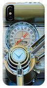 1959 Ford Thunderbird Convertible Steering Wheel IPhone Case