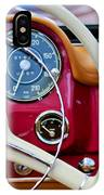 1959 Mercedes-benz 190 Sl Steering Wheel IPhone Case