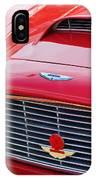 1960 Aston Martin Db4 Grille Emblem IPhone Case