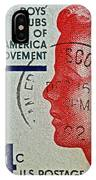 1960 Boys' Clubs Of America Movement Stamp IPhone Case
