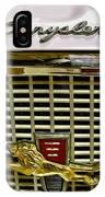 1960 Chrysler Windsor Hood Grill IPhone Case