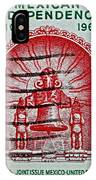1960 Mexican Independence Stamp IPhone Case