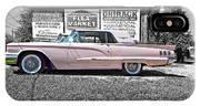 1960 Thunderbird Bw IPhone Case