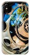 1961 Alfa Romeo Giulietta Sprint Speciale Wheel Emblem -0051c IPhone Case