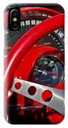 1961 Chevrolet Corvette Steering Wheel 2 IPhone Case