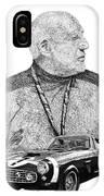 Sir Stirling Moss 1961 Ferrari G T 250 IPhone Case