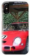 1962 Ferrari 250 Gto  IPhone Case