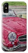1962 Mercedes Benz 190sl IPhone Case