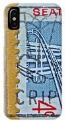 1962 Seattle World's Fair Stamp IPhone Case