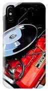 1963 Chevrolet Corvette Split Window Engine -147c IPhone Case