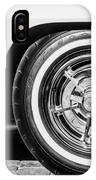 1963 Chevrolet Corvette Split Window Wheel -090bw IPhone Case