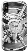 1963 Chevrolet Corvette Split Window Wheel -111bw IPhone Case